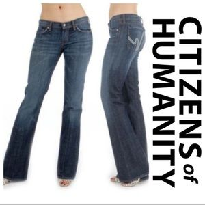 Citizens of Humanity Ingrid Flare Wimbledon Jeans